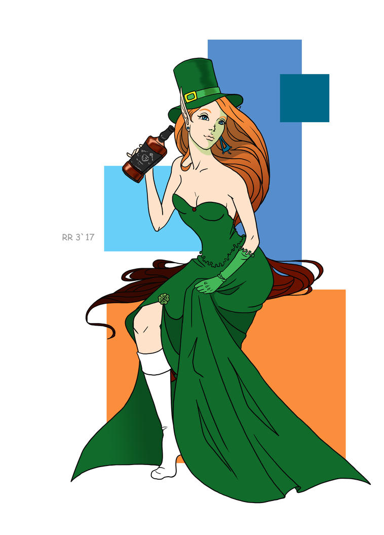 St Patric`s Day by Renna-R