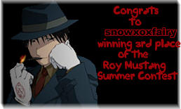 3rd winner contest award by roy-mustang