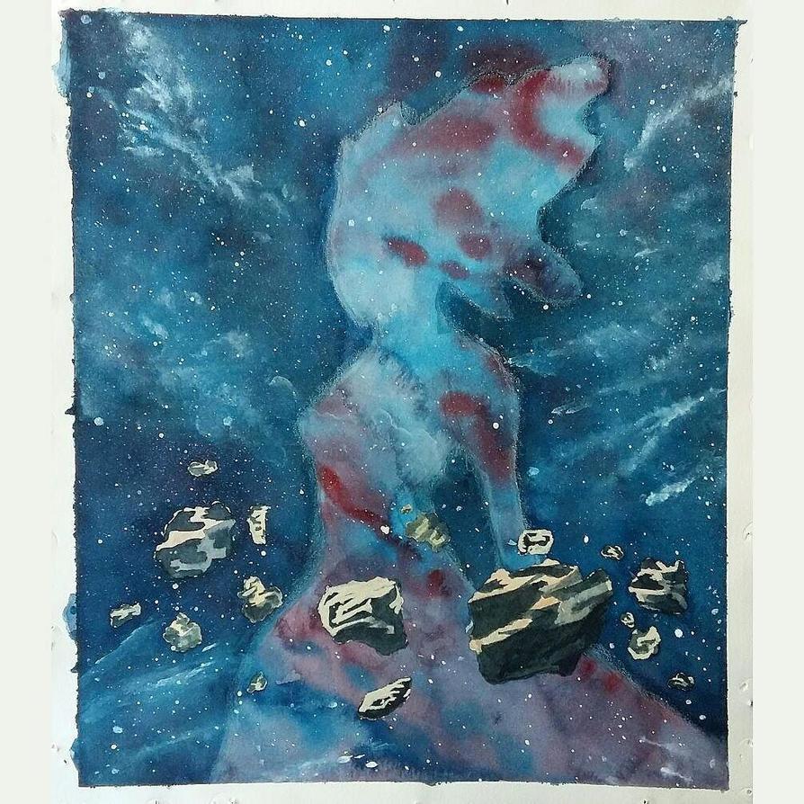 Galaxy woman (f) by Re-Born93