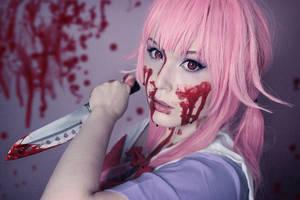 Mirai Nikki: Yuno Gasai Cosplay by Yumizu-Chan