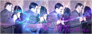 Gomez + Morticia Banner