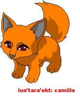 baby fox1 base by teamemeraldHQ