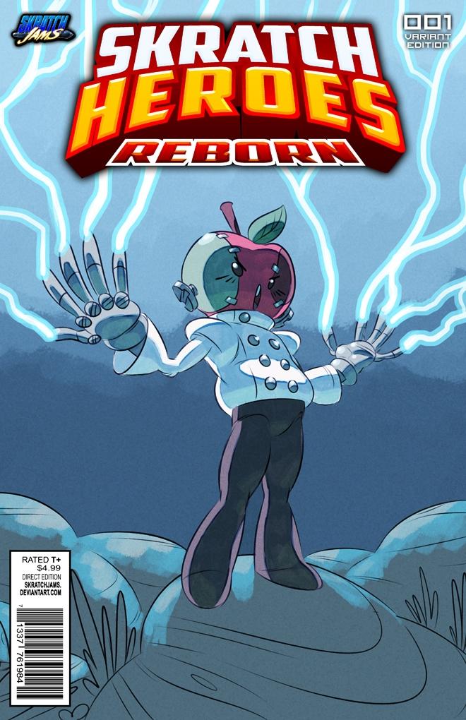 Skratch Heroes Reborn - Applestein by DmitriYu