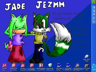 Jade and Jezmm by kookypenguin