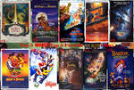 Top 5 Worst/Top 5 Favorite Don Bluth Films
