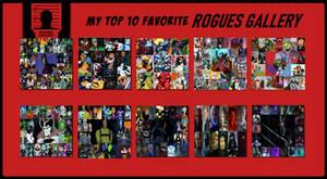 Top 10 Favorite Rogues Galleries