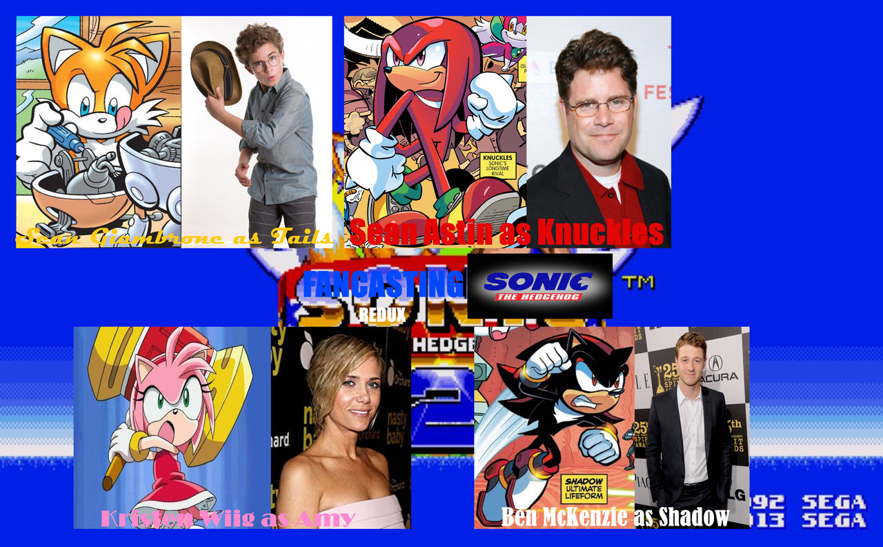 Sonic The Hedgehog 2 Fancast By Supercrashthehedgeho On Deviantart