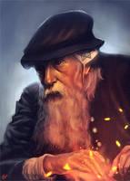 Old Satanist by WojtekFus