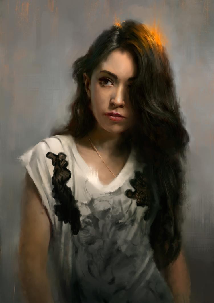 Agatha by WojciechFus