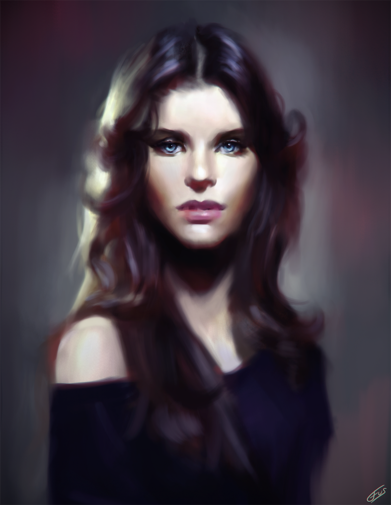 Portrait by WojciechFus