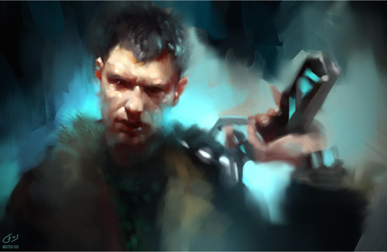 Bladerunner Speedpainting by WojciechFus