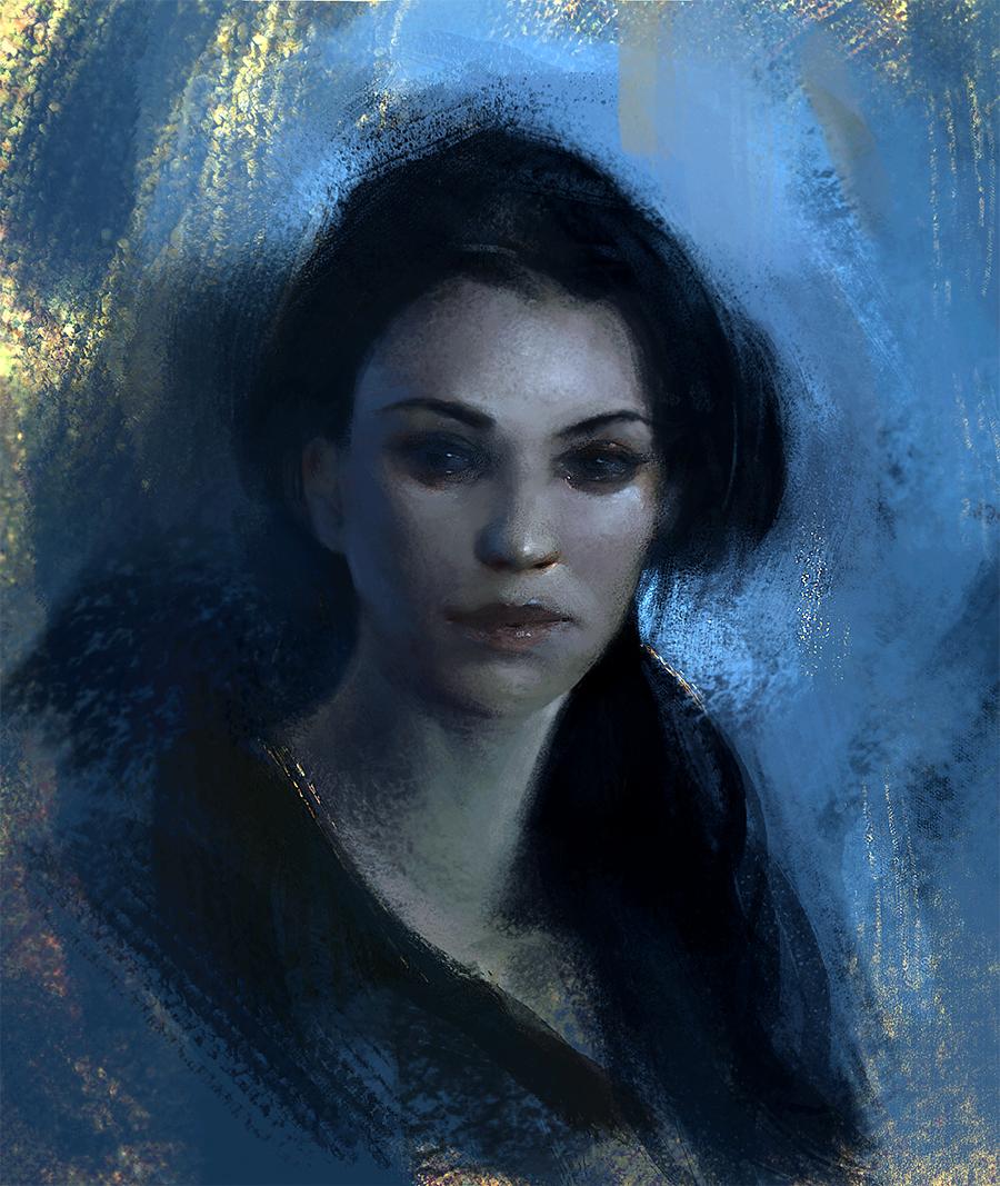 Blue by WojciechFus