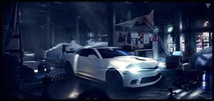 Nitro Nation - Garage Concept by WojtekFus