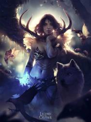 Goddess of the Sacred Forest
