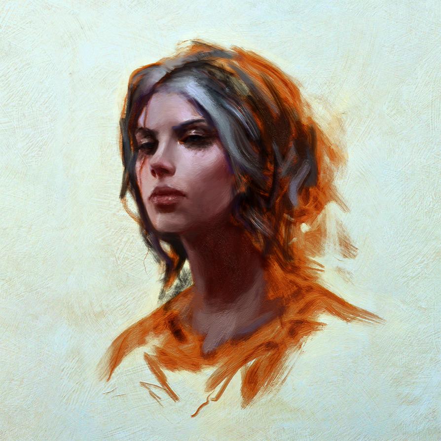 Ciri by WojciechFus