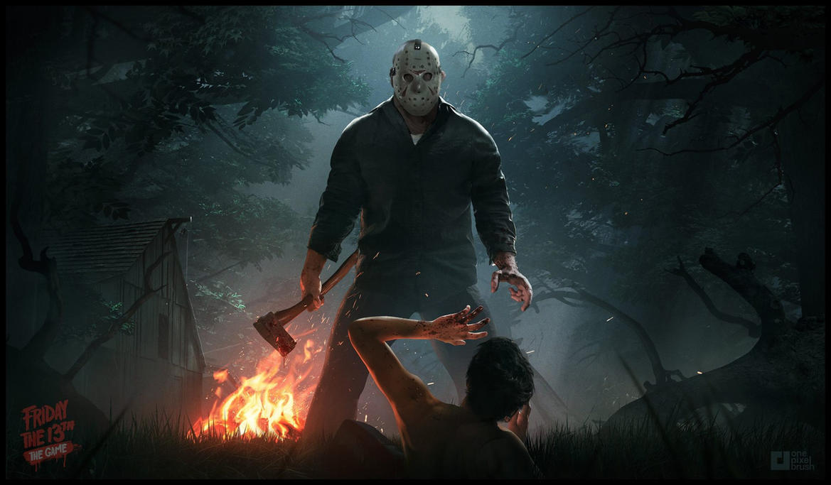Friday The 13th: The Game Promo Art by WojtekFus