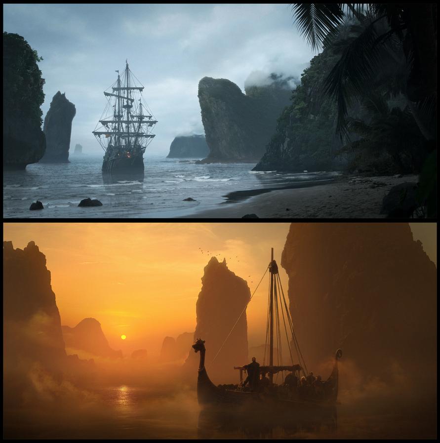 Ships by WojciechFus