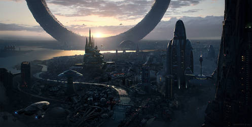 Cityscape by WojtekFus