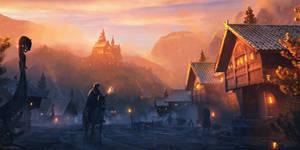 Streets of Sandvik by WojtekFus