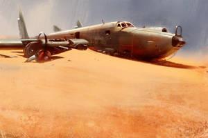 Desert Wreck by WojtekFus