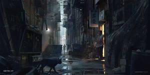 Alleyway - Detroit: Become Human