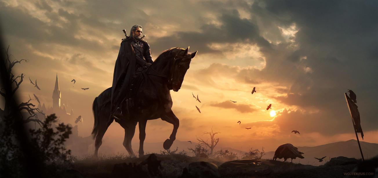 Geralt of Rivia by WojtekFus