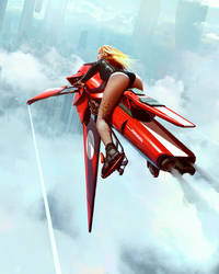 Speeder Girl