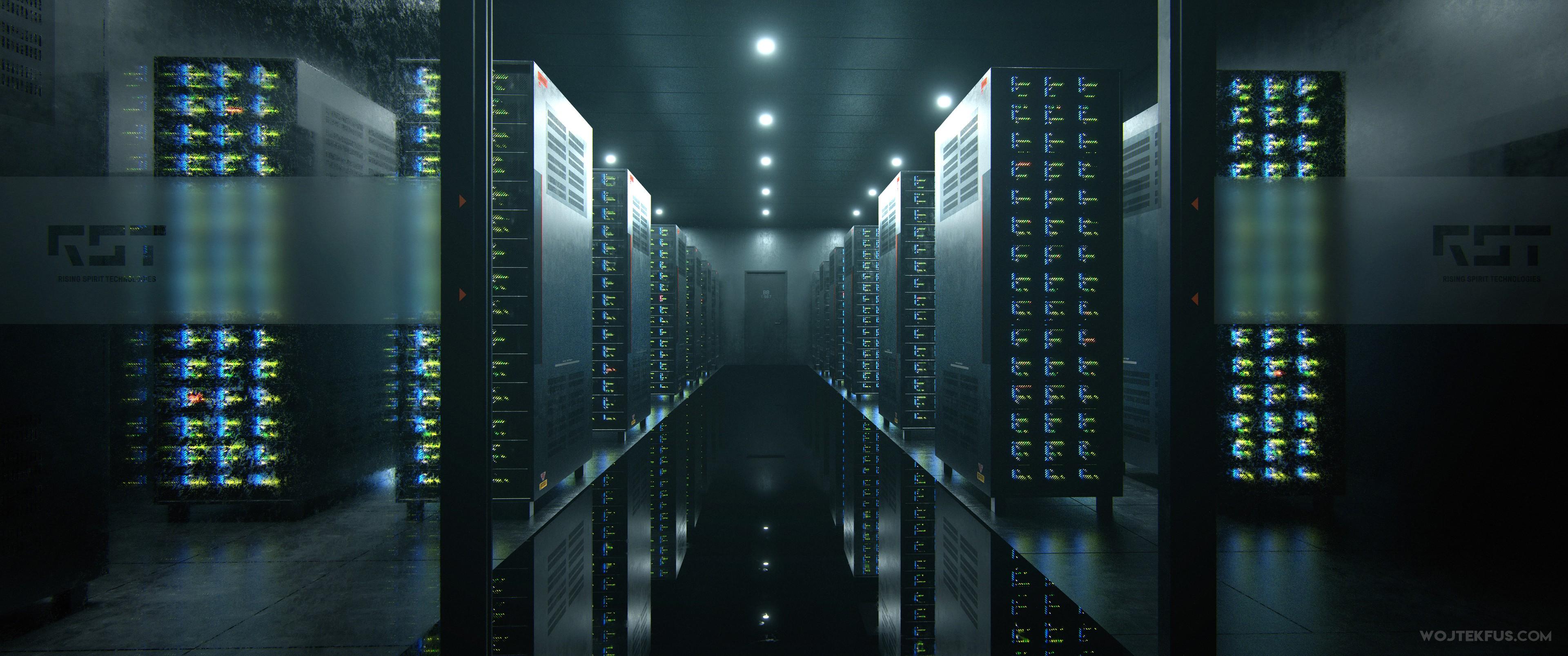 Server Room - Bloodshot