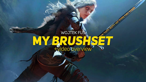 My Brush Set + Video Overview - Free!