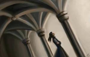 Gothic Snape by Natalliel