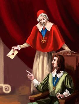 Louis XIII and Richelieu