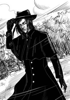 Snape in the Coat