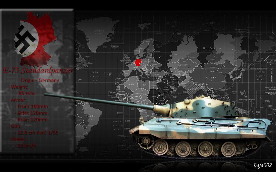 e-75 tankbaja002 on deviantart