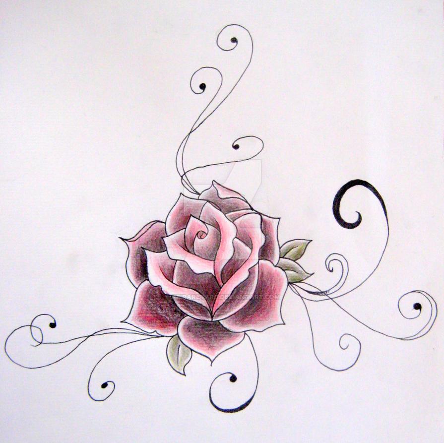 TD 001. Rose by ReiraRetard
