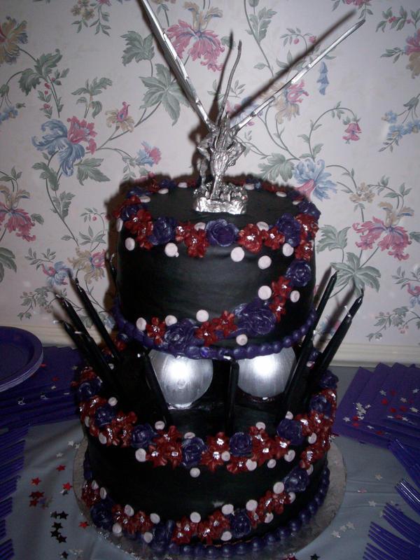 Gothic Style Birthday Cakes