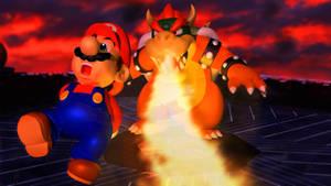 Super Mario 64 Render Stylized Remake! [Blender]
