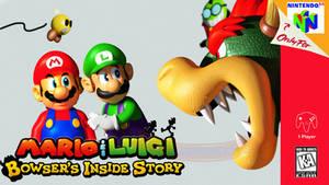 MandL: Bowser's Inside Story N64 Style! [Blender]
