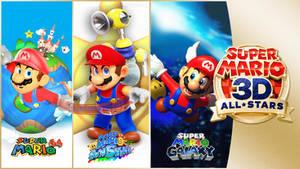 Super Mario 3D All-Stars Stylized!