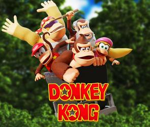 DK40thAnniversary: Donkey Kong 64 Boxart Remake!