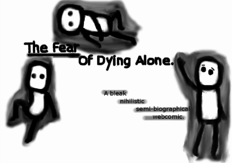 Dying Alone T-shirt - The Frisky