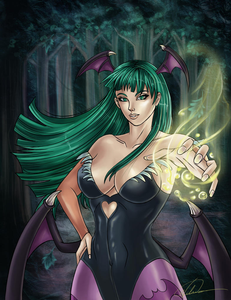 Darkstalker Morrigan by JaeBlaze06