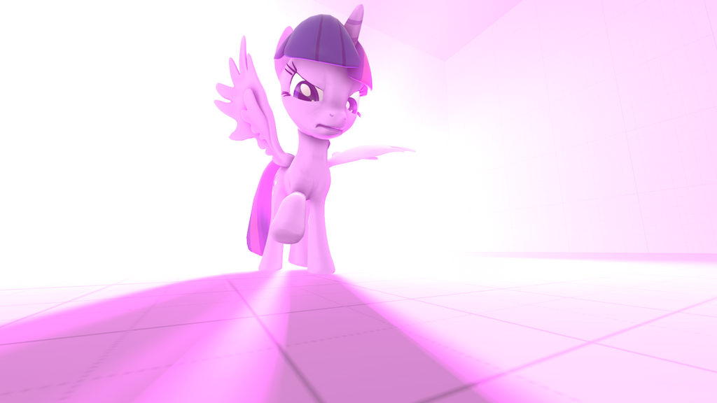 Angry Twilicorn [SFM] [POSTER] by Xnander