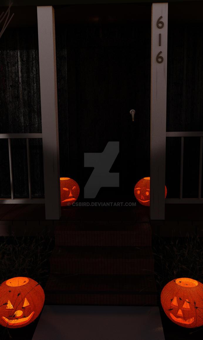 HauntedSteps2 by csbird