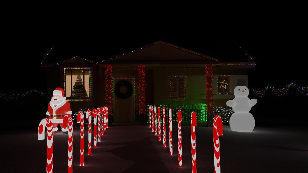 Christmas Lighting Contest by csbird