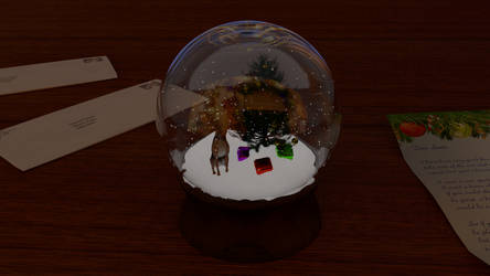 Christmas Snowglobe by csbird