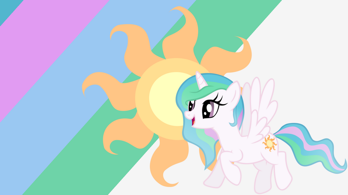 - Filly Princess Celestia Wallpaper - by Ponyphile on ...