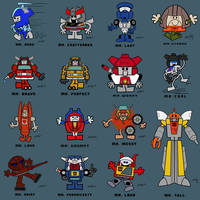 MR. MECH COLLECTION
