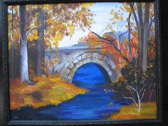 fall colors by Auzureii
