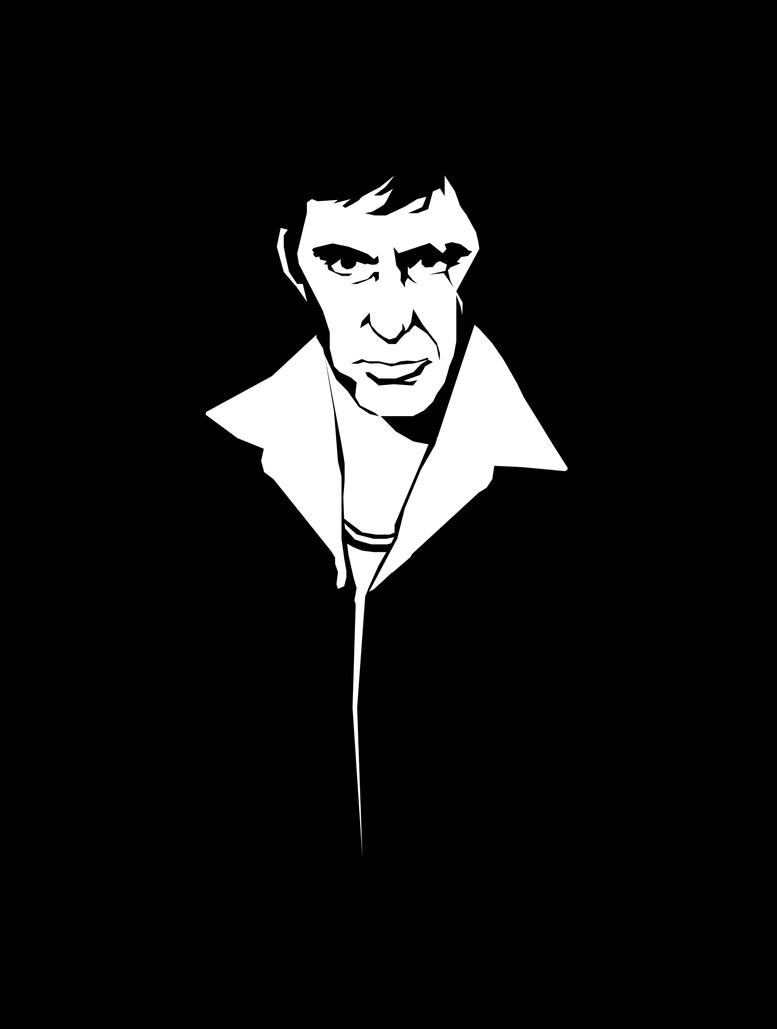 Tony Montana by MoodyBloon