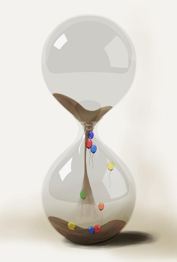 Hourglass by MoodyBloon